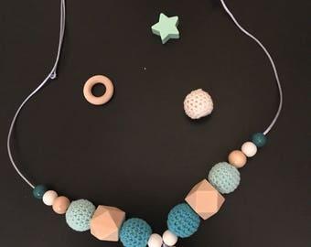 Babywearing or nursing necklace