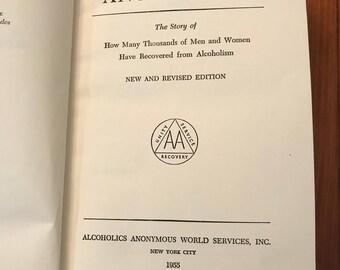 Alcoholics Anonymous Original 2nd Edition Big Book