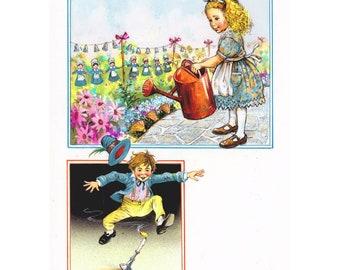 Mary Mary Quite Contrary / Jack be Nimble