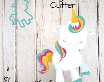 Prancing Unicorn Cookie Cutter