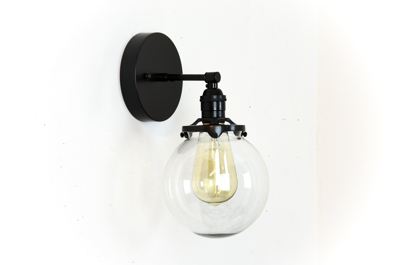 Globe Bathroom Lights Vanity Lighting Modern Wall Lamp Mid - Globe bathroom sconce
