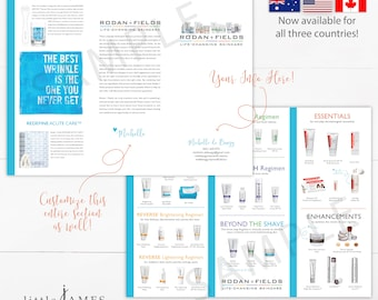 Rodan and Fields Trifold Product Brochure - Product Brochure United States / Product Brochure Canada / Product Brochure Australia