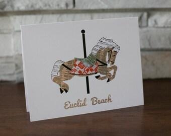 Euclid Beach Carousel Note Cards