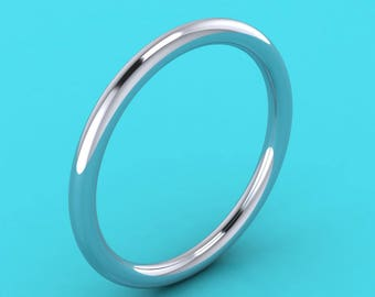 Mila kunis style PLATINUM  950 1.75mm  ring /Wedding Band /wedding ring / eternity Ring / engagement ring hatton garden london jewellers