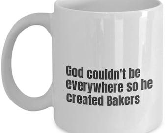 Baker funny mug, Baker funny mug, Baker, gift idea