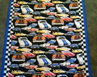 Muscle Car Quilt