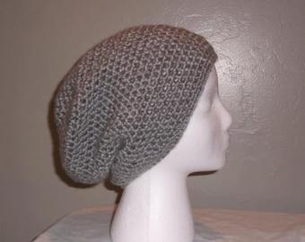 Alice Slouchy Beanie Hat, crochet hat