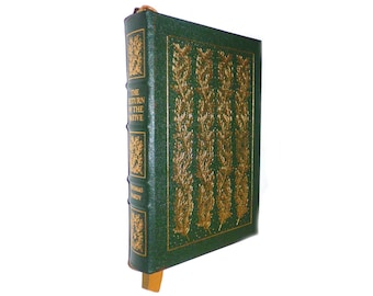 Thomas Hardy  The Return of the Native Illustrated with Wood Engravings by Agnes Miller Parker Vintage Leather Book by Easton Press MINT Con