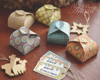 Printable Gift Boxes and  Labels