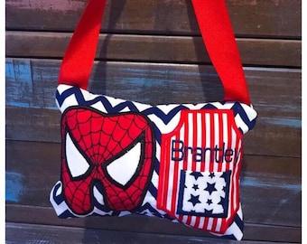 Superhero Spider Tooth Fairy Pillow