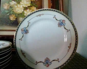 """Vintage Noritake China, Laureate Pattern, 6 1/2"""" Bread and Butter Plate, China, Serving"""