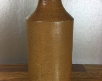 Ink Pottery Bottle