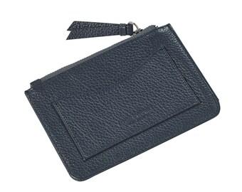 Leather coin purse medium