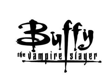 Buffy the Vampire Slayer vinyl decal sticker