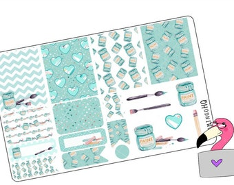 Art Attack -  Planner Stickers