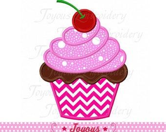 Instant Download Cupcake Applique Machine Embroidery Design NO:2347