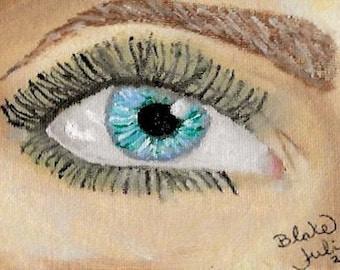 Eye Painting Print