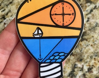 Anchor Idea Vinyl Sticker