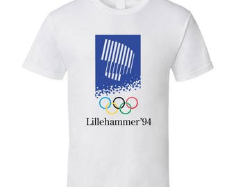 Lillehammer 1994 Winter Olympics T Shirt