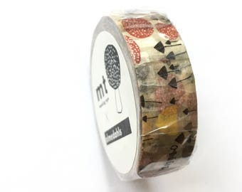 MT 10m Washi Masking Tape -  MT almedahls Design - Masking Tape - Excellent Quality - Made in Japan - Ready to Ship
