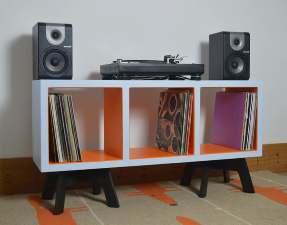 Items Similar To Vinyl Record Storage Colourful Display