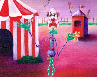 Clown Painting
