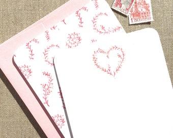 Vine Heart Note Flats