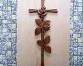 Wooden Cross ~ Wood Wall ...