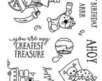 Neat and Tangled- YO HO HO Clear Stamp Set
