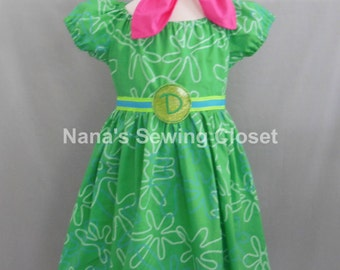 Disgust - Inside Out Dress