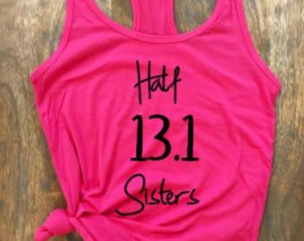 Half Sisters 13.1 Tank Top