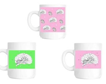 Anatomical Brain mug