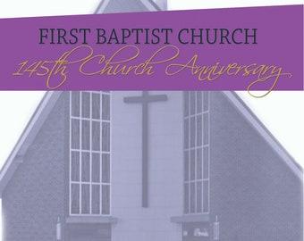 Souvenir Program Church Anniversary