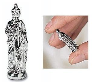 1 Tiny St Jude (Saint Jude) Statue for Shrines, Memory Boxes, Pocket Prayers - Manda     (JWL-R)