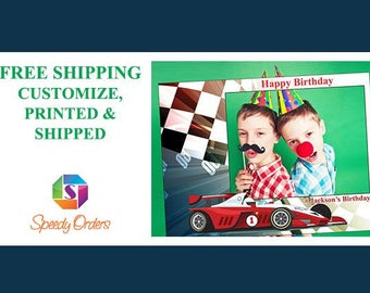 Large Race Car Photo booth props, Racing party, Car Race birthday, Race Track, Racing flag, Racing decor, Racer,Race, Boy birthday;10011246