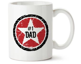 Number One Dad, Best Dad, Awesome Dad, Father's Day, Rock Star, Birthday Gift, For Dad, Dad's Birthday, Gift For Dad, Greatest Dad