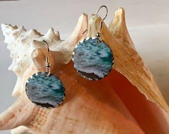 """Earrings """"Ocean Meets Beach"""""""