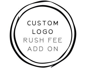 Add-on 'Custom Logo Design Rush Fee'