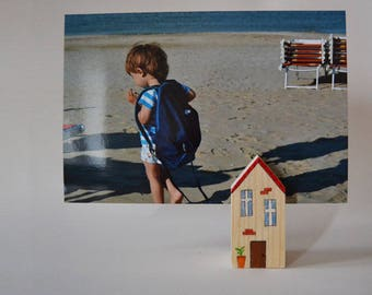 Cabin photo frame and placeholder large