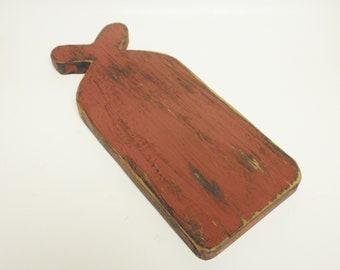 Primitive Riser, Kitchen Decor, Country Farmhouse Decor, Table Risers, Decorative Cutting Boards, Punch Needle Boards, Colonial Decor