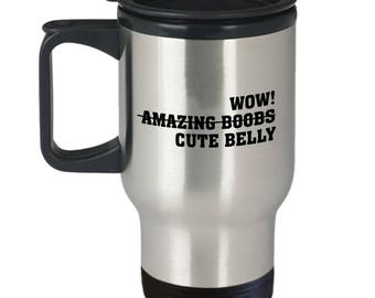 Amazing Boobs Coffee Mug | Boobs Mug | Gift For Him | Gift For Her | Big Boobs | Personalized Mug |  Big Coffee Mug Decal | Big Coffee