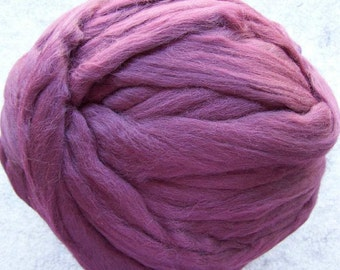 Merino Wool Roving, Wool Roving, Merino Wool, Felting Wool, Spinning  Fiber, Ashland Bay Fibers - Wine - 8oz