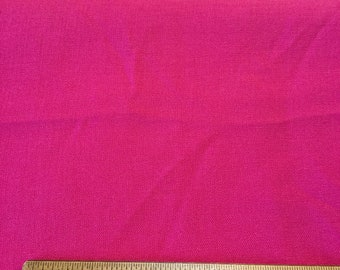 5 1/2 yards Pink Heavy Knit Fabric,Solid,Plain,Bright,Fuschia,Heavy