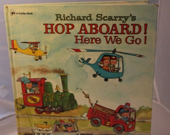 Richard Scarry's Hop Aboard! Here We Go! 1972