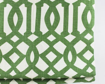 Schumacher Imperial Trellis Roman Shade (shown in Treillage... comes in 11 Colors)