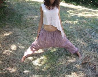 Top Diagonal Khadi Organic Cotton vest