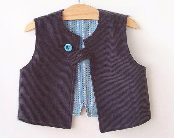 SMART VEST Boy pattern Pdf sewing pattern, Easy Simple, children ...