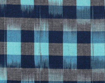 Anna Maria Horner FABRIC - Loominous Woven - Checkered Past in Sky