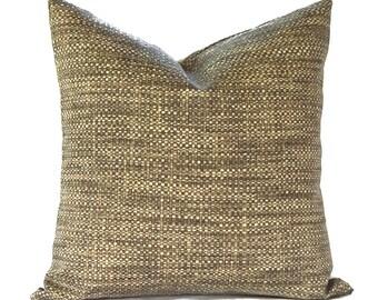 Outdoor Pillows Outdoor Pillow Covers Decorative Pillows ANY SIZE Pillow Cover Tan Pillow Richloom Outdoor Remi Patina