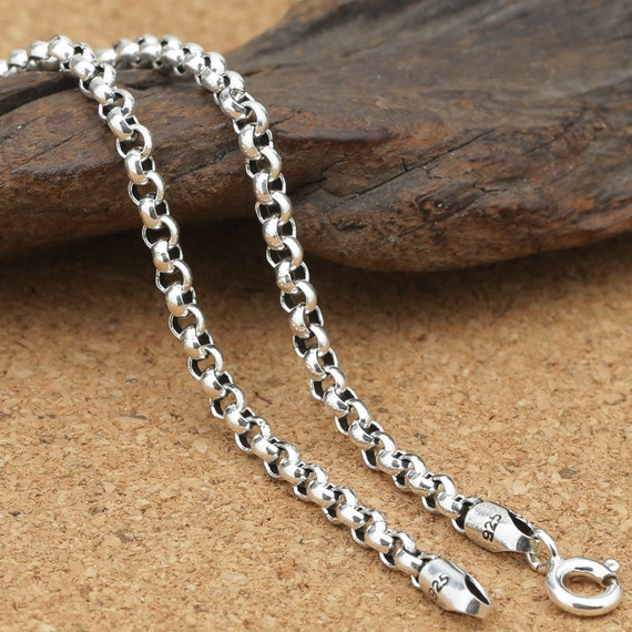 popular platinum iron chains come item on oval making rolo reel important jewelry for decoration cross